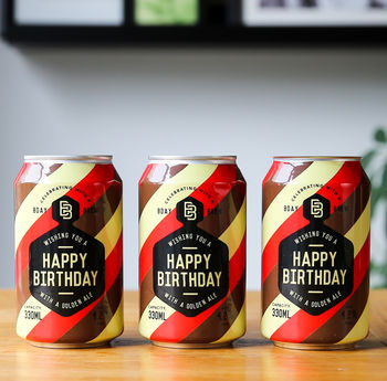 Birthday Brew Craft Beer Trio