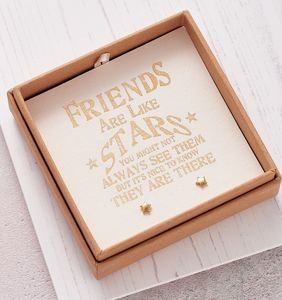 Design Your Own 'Friends Are Stars' Jewellery Gift Box - gifts for friends