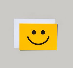 Smiley Face Card - shop by category