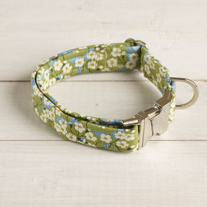 Tilly Liberty Fabric Dog Collar