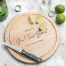 Personalised Funny Chopping Board