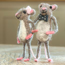 Happy Couple Mice