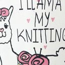 'I Llama My Knitting' Knitting Needle Bag