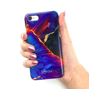 Cobalt Fault Phone Case - phone covers & cases