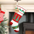 Christmas Crafts Traditional Knitted Stocking