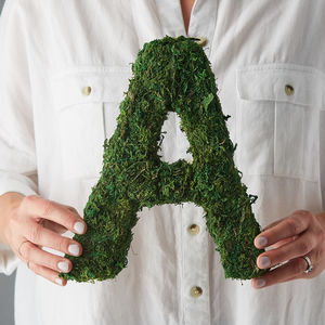 Moss Decorative Alphabet Letters - shop by category