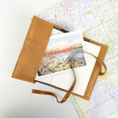 'To Travel Is To Live' Suitcase Journal