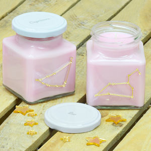 Zodiac Constellation Candle - new in home