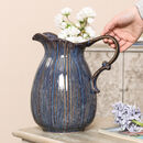 Willowdene Sodalite Blue Jug Vase