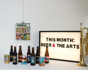 Mixed Case Of Eight Craft Beers And Ferment Magazine - gifts for him