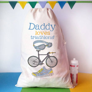 Personalised Triathlon Sack