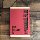 The Future Is Female Framed Papercut