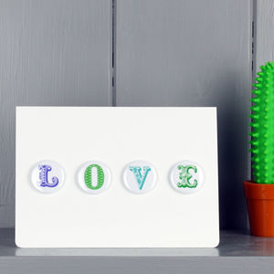 Love Magnet Card
