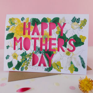 Happy Mothers Day Paper Cut Card
