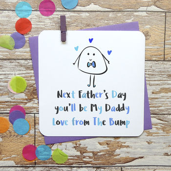 Next Father's Day You'll Be My Daddy Card