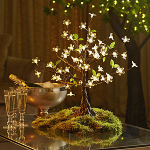 Mini LED Cherry Tree - artificial plants
