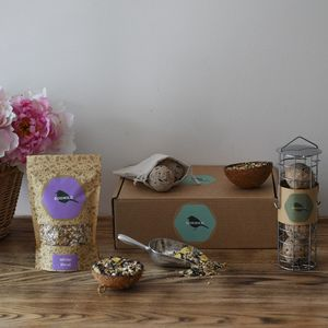 Fat Ball Bird Seed Gift Box