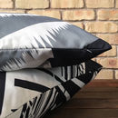 Barbican London Cotton Cushion Cover. Double Side Print
