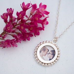 Silver Photo Locket