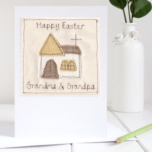 Personalised Church Easter Card