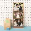 Personalised Solid Copper Photo Booth Print