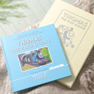 Personalised Thomas The Tank Engine Book Gift Boxed - books