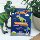 Dinosaur Birthday Party Invitations Pack Of 20