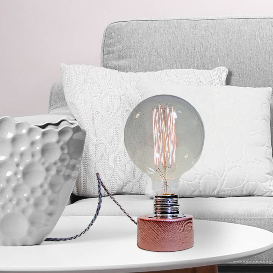 Bespoke Table Lamp By Unique S Co Notonthehighstreet Com