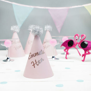 Personalised Hen Party Hats
