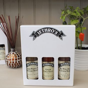 Jethro's Pick Your Own Sauce Gift Box