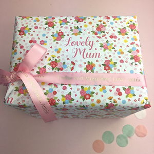 Personalised Ribbon - gift wrap