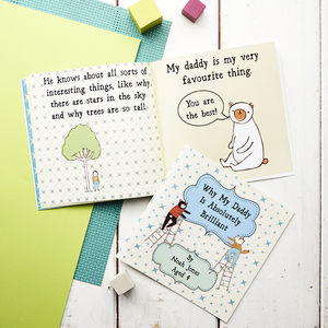 Personalised 'Why My Daddy Is Brilliant' Gift Book - winter sale