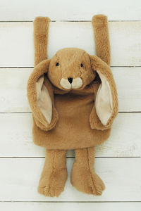 Brown Bunny Hand Muff - hats, scarves & gloves
