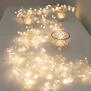 Crystal Cascade Light Garland