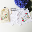 Property Of The Bride, Personalised Groom's Pants