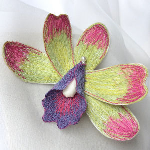 Wild Orchid Brooch - pins & brooches