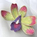 Wild Orchid Brooch