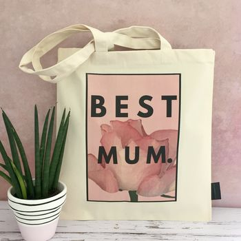 Mum Bag 'Best Mum' Mother's Day Gift