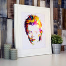 Limited Edition David Bowie Foil Print