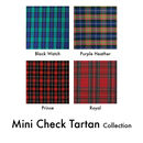 Mini Check Tartan Collection