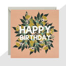 'Happy Birthday' Lemons Card