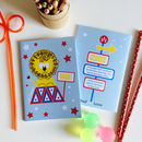 Party Bag Mini Circus Lion Notebook Or Stocking Filler