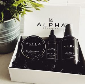 Beard Oil, Beard Balm And Beard Wash Gift Box - gifts for him