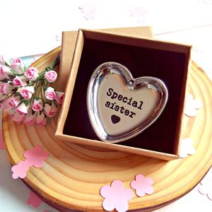 Keepsake Sentiment Dish - decorative accessories