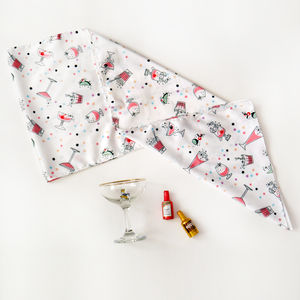 Cocktail Hour Silk Scarf