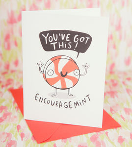 'Encouragement' Greeting Card