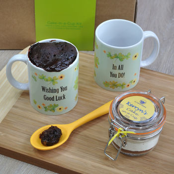 'Good Luck!' Mug Cake Kit