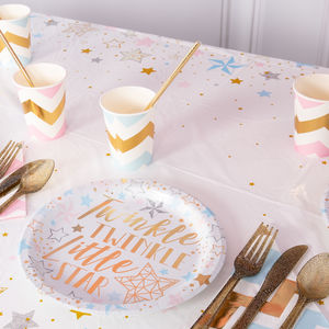 Twinkle Twinkle Party Table Cover