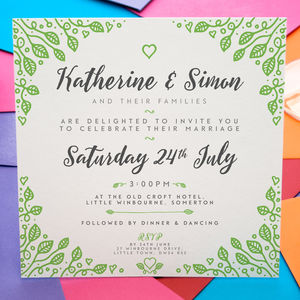 Wedding Invitations - invitations