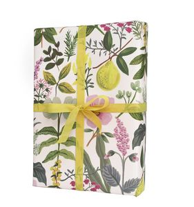 Floral Summer Bloom Gift Wrapping Paper Set Of Three